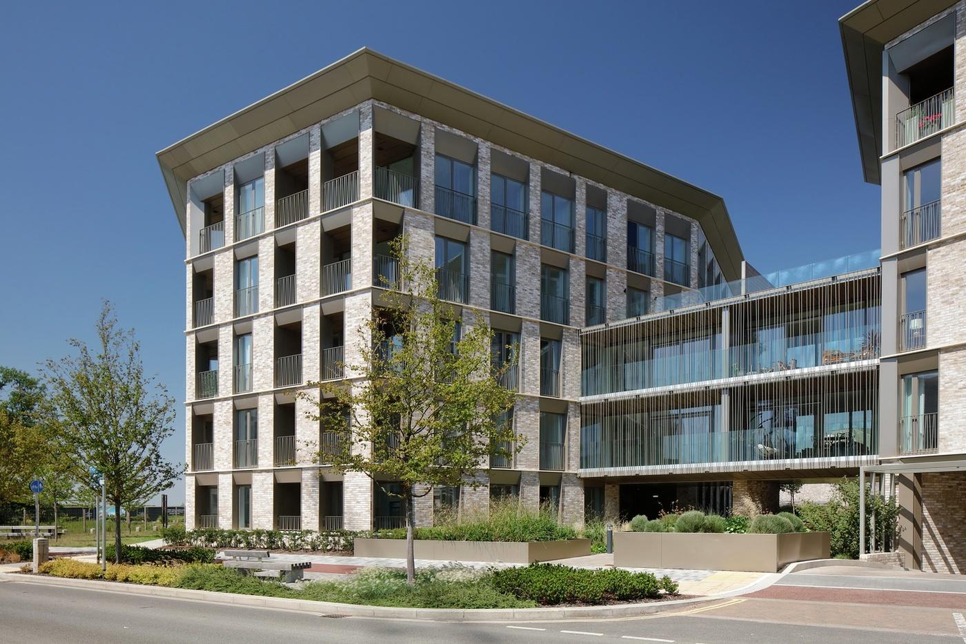 Apartment building at Athena