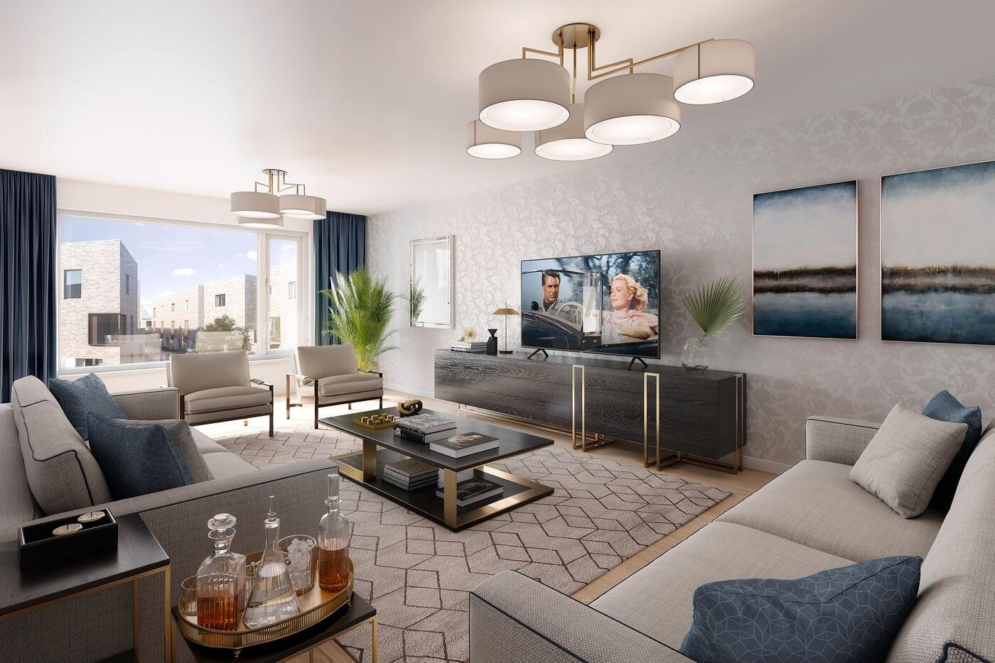 Living Room image of a Villa
