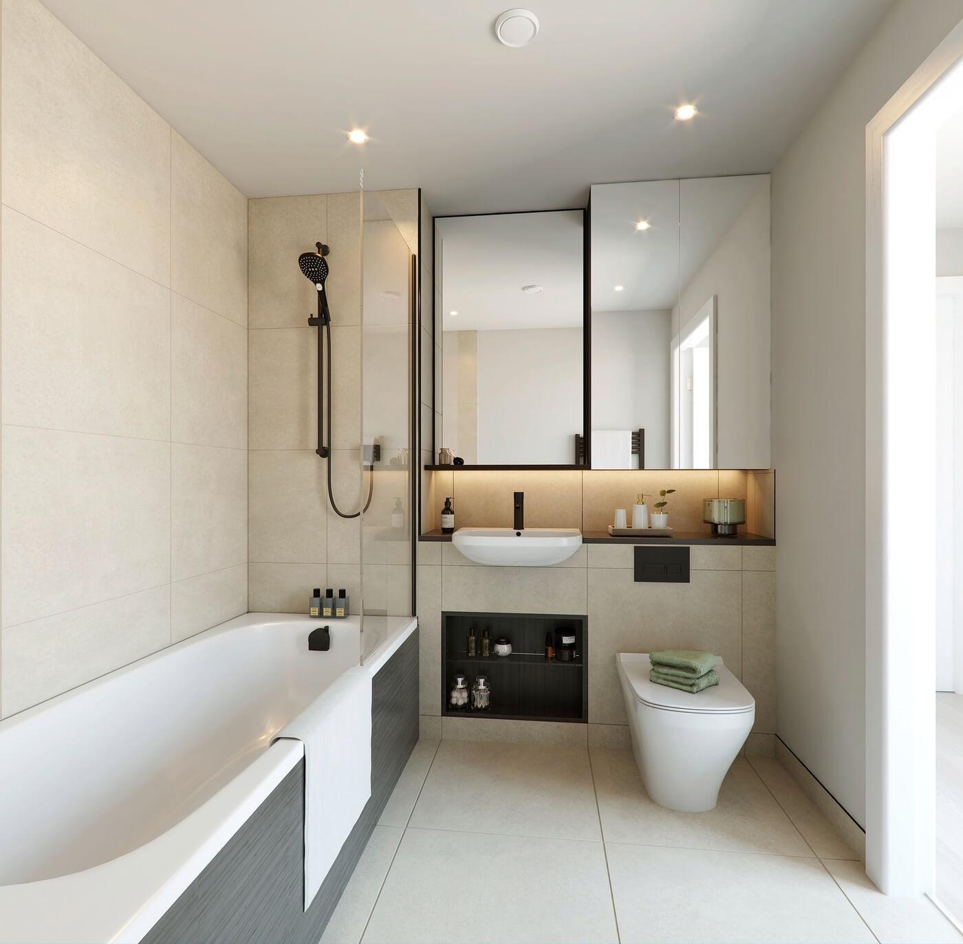 Bathroom at Rubicon