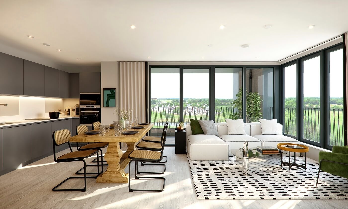 Living Area at Rubicon